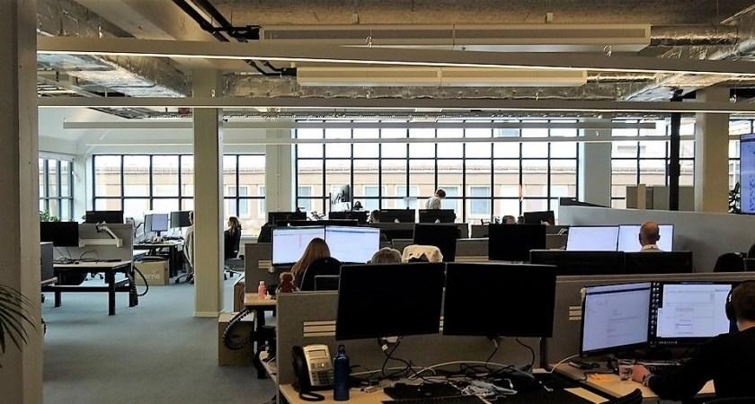 Nordnet digitaliserar anrika nya kontoret med Conscia Netsafe