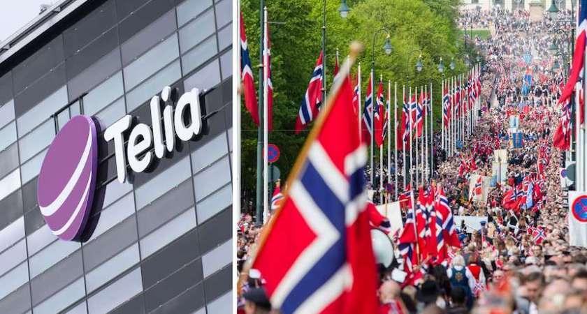 Telia Company förvärvar TDC:s norska verksamhet