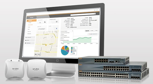 Aruba förbättrar nätverksaccessen för lokalkontor