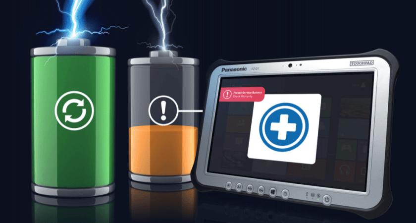 Ny smart batterigaranti för Panasonics robusta enheter