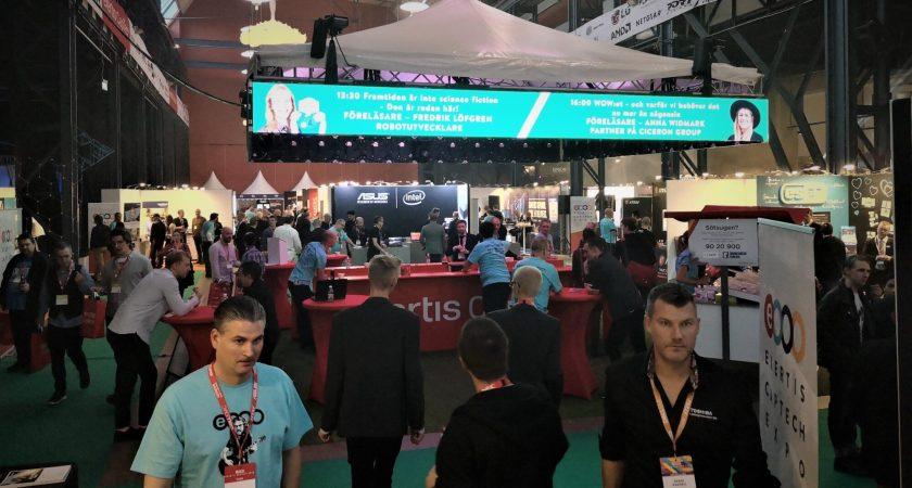 Exertis CapTech Expo 2018