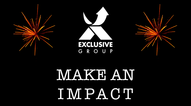 Welcome to Club Exclusive – Make an Impact! 1