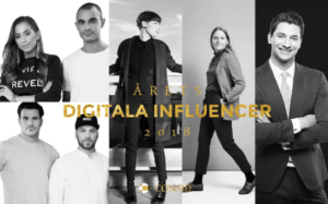 De kan få titeln Årets digitala influencer 2018 1