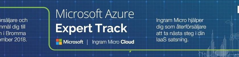 Azure Expert Track med Ingram Micro