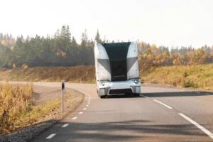 Einride, Ericsson och Telia lanserar självkörande ellastbilar i nytt 5G-samarbete 1