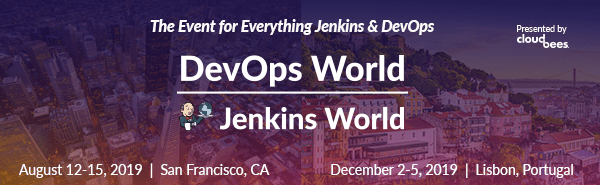DevOps World | Jenkins World 2019 CFP is Now Open!