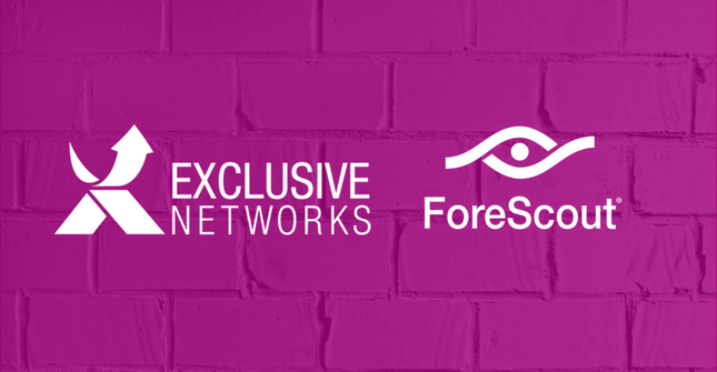Exclusive Networks presenterar en deras nya leverantör – Forescout