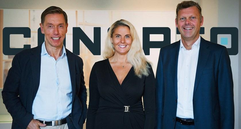 Idag lanseras Conapto AB på den svenska marknaden och målsättningen är tydlig