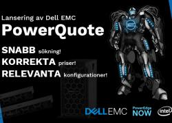 Tech Data AB lanserar PowerQuote för Dell EMC-servrar