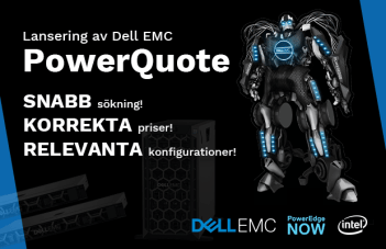 Tech Data AB lanserar PowerQuote för Dell EMC-servrar 1