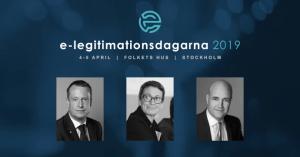 Ygeman och Reinfeldt klara för årets konferens e-legitimationsdagarna 4-5 april 1