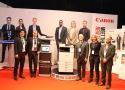 Canon lanserade lättskött miljövänlig bläckstråleskrivare för företag