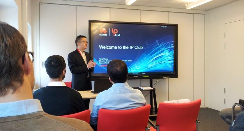 En ny smart och flexibel Lab-lösning visades på Huawei IP Club