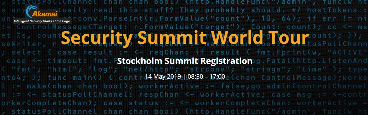 AKAMAI - Security Summit World Tour 1