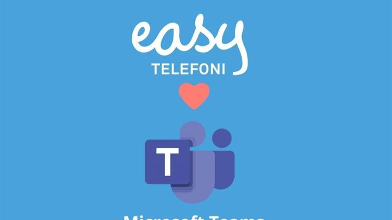 Molnbaserade växeln Easy Telefoni släpper full integration mot Microsoft Teams