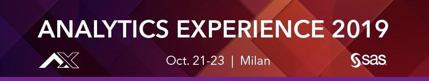 Analytics Experience 2019