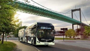 Volvo Bussar demonstrerar elektrisk autonom lösning i bussdepå 1