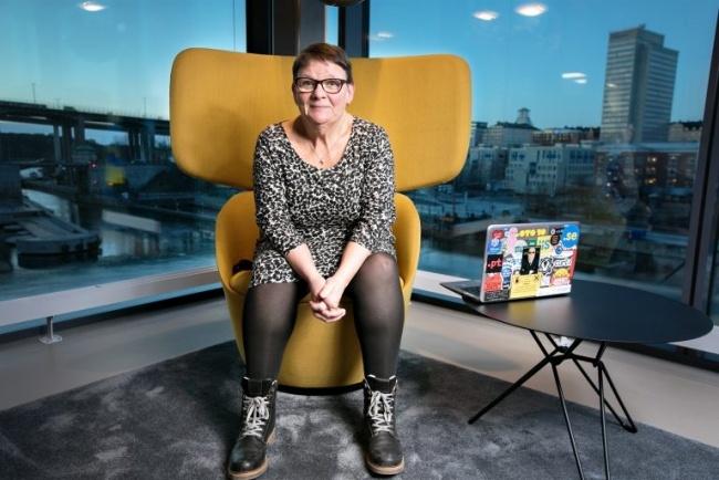 Internetstiftelsens säkerhetschef Anne-Marie Eklund Löwinder är Årets trygghetsambassadör