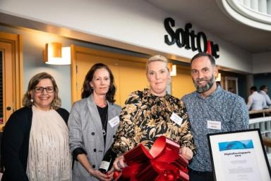 Vinnarna av SoftOnes Digitaliseringspris 1