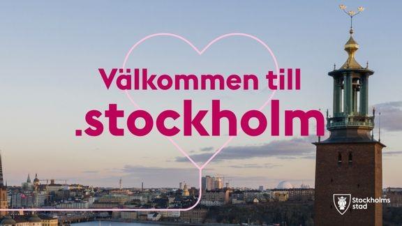 Så möter staden stockholmarna på ny webb