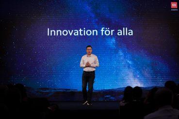 Xiaomi introducerar sin ledande teknik till den svenska mobiloperatörsmarknaden 1