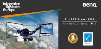 BenQ presenterar nya lösningar för företags- och utbildningssektorn på ISE 2020 1