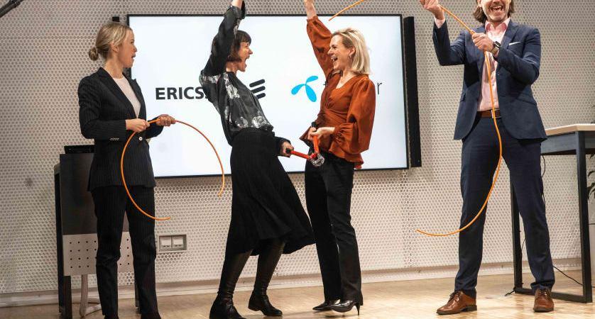 Telenor Sverige och Ericsson rustar industrin för 5G