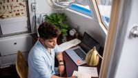 Sex tips för att arbeta effektivt hemifrån