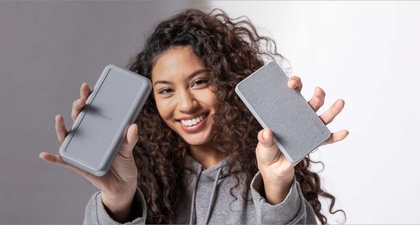 mophie introducerar ny trådlös powerbank – powerstation wireless XL