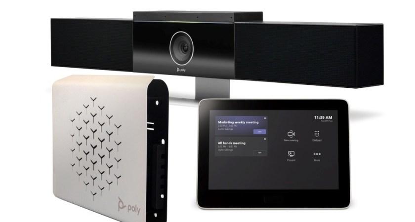 Poly lanserar tre rumslösningar för Microsoft Teams Rooms
