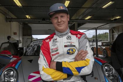 Porsche Carrera Cup Scandinavia: Johan Kristoffersson kommer till start i Fällfors! 1