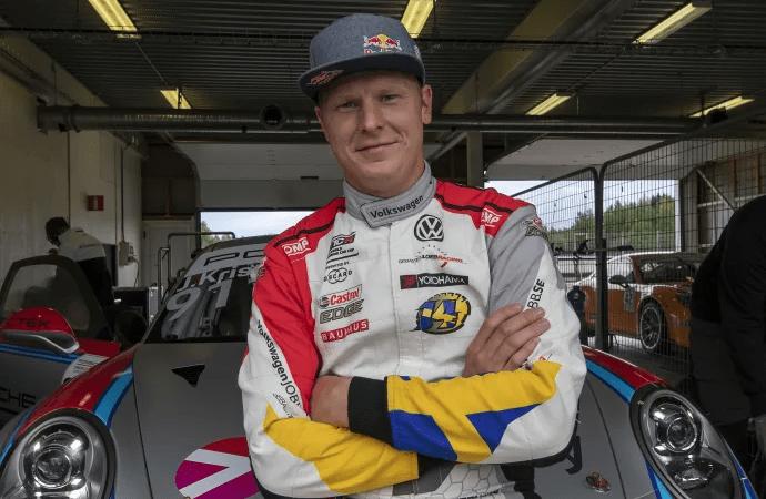 Porsche Carrera Cup Scandinavia: Johan Kristoffersson kommer till start i Fällfors!