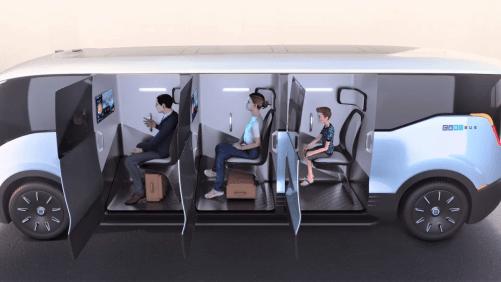 Svensk uppfinning: Corona säker kollektivtrafik. 1