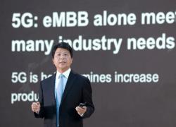 Huaweis roterande ordförande Guo Ping vid GSMA Thrive – Möjligheterna med 5G i en värld efter pandemin