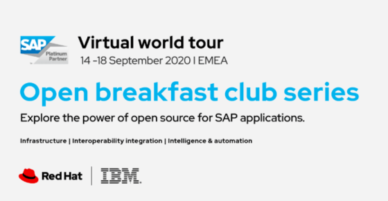 Open Breakfast Club powered by IBM, Red Hat and SAP
