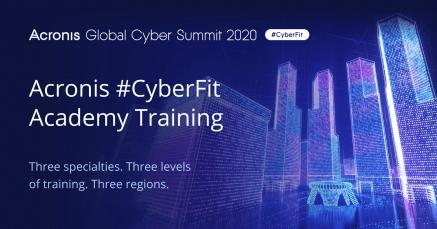Acronis lanserar nya utbildningsprogrammet #CyberFit Academy 1