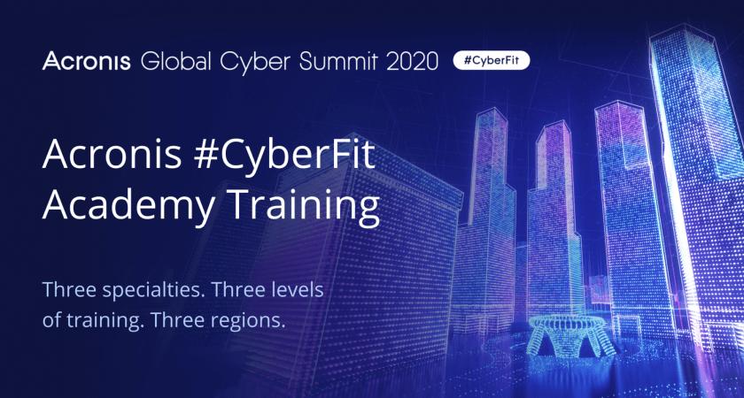Acronis lanserar nya utbildningsprogrammet #CyberFit Academy