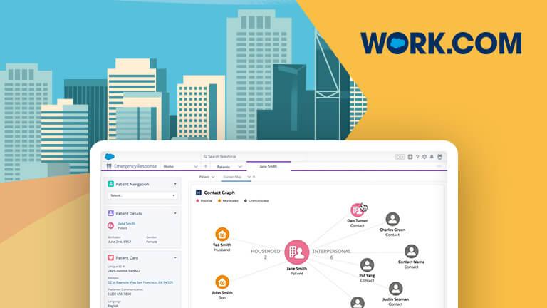 Salesforce vidareutvecklar Work.com med fler funktioner