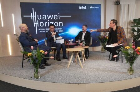 De tog Gulddraken när Huawei Horizon gick av stapeln idag