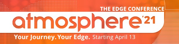 Atmosphere 2021 – Your Journey. Your Edge.