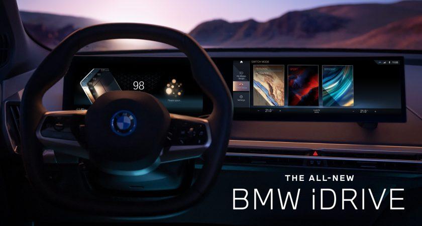 BMW vill skapa världens största intelligenta fordonsflotta med nya BMW iDrive