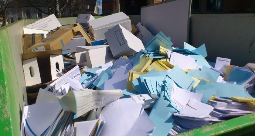 Långt kvar till det papperslösa samhället, visar ny undersökning