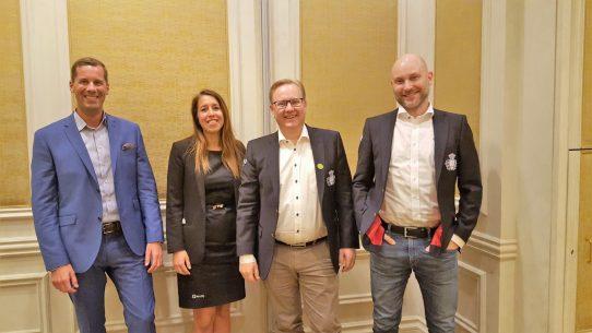 Från ACE IQ Max Lindqvist, Eva-Katrine Persson, Håkan Andersson samt Mats Ericson