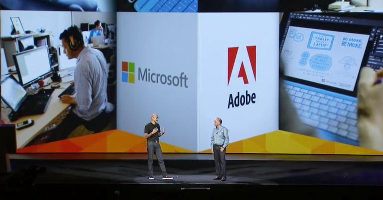 Adobe och Microsoft i nytt molnsamarbete