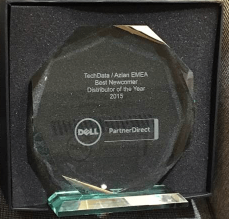 Tech Data Europa erhöll utmärkelse på Dell Solutions Conference 2015