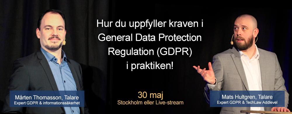 GDPR Summit 2017 1