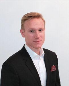 Hampus Persson, kanalchef på Episerver.