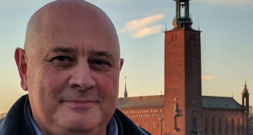 En fransman med Europa som arbetsfält och bopålarna i Sverige
