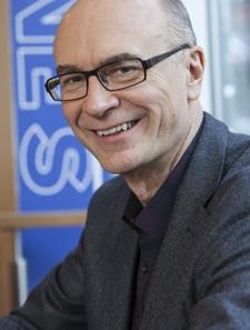 Milos Herman, en av grundarna av Antoma som hjälper kanalen i strategifrågor.