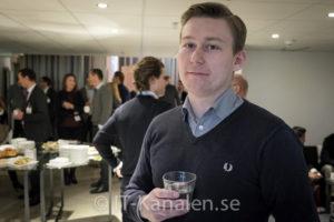 Johan Thorslund, B2B IT-partner.